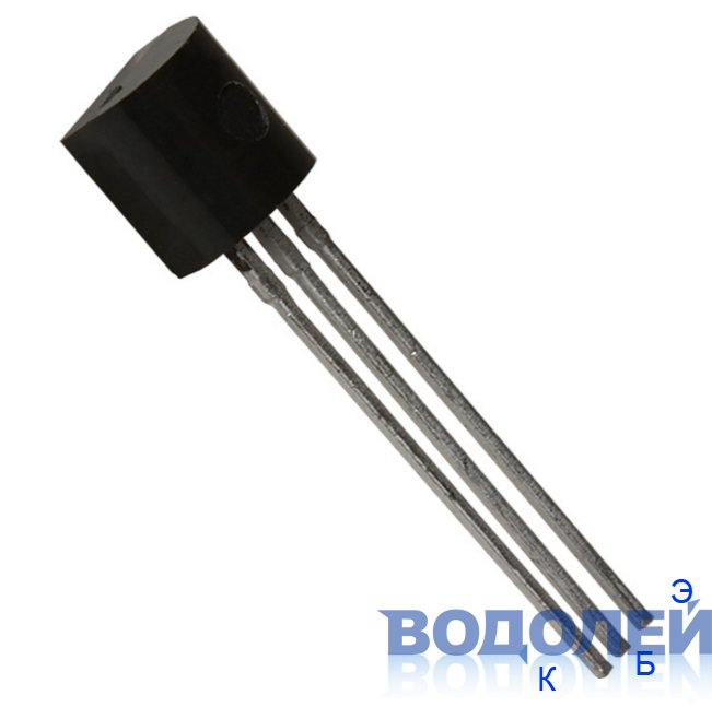 Транзистор 2N5401-Y / P-N-P 160V / 0.6A (TO-92)